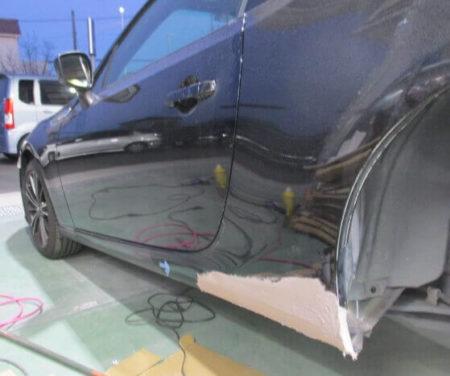 鈑金塗装修理の事例紹介(幸手市 スバル・BRZ)